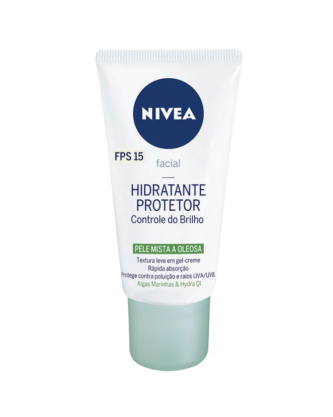 Facial Hidratante Protetor Controle do Brilho, Nivea, R$ 24