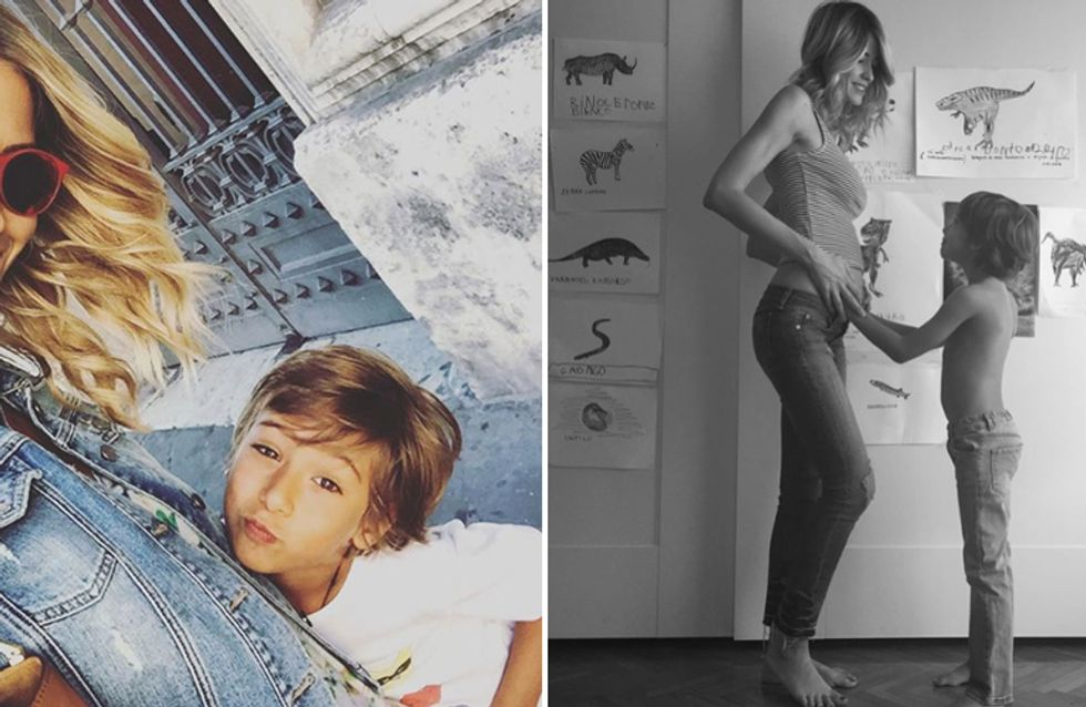 Elena Santarelli è incinta! Ecco come lo comunica sui social...