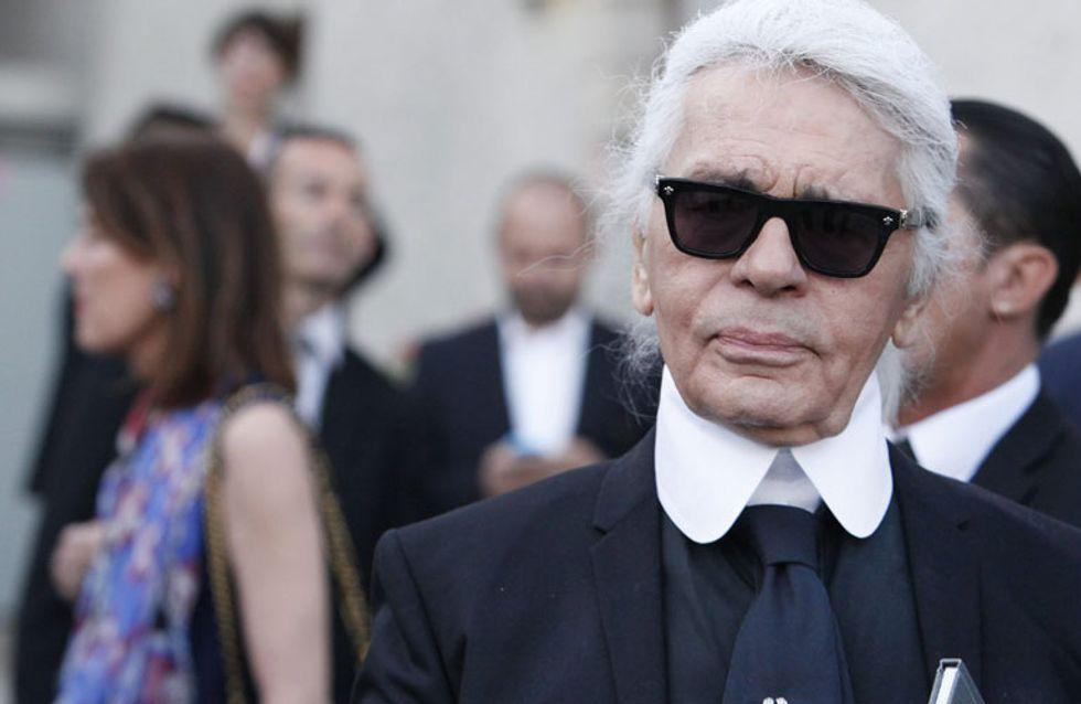 Karl Lagerfeld presenta su primera colección de ropa para niños