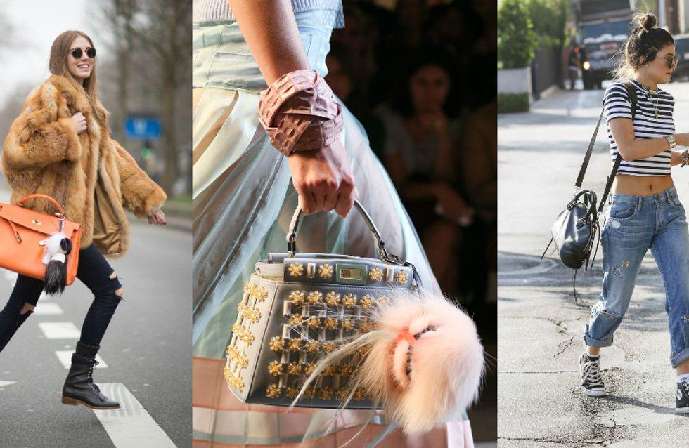 Dê um toque especial para sua bolsa com os chaveiros que são tendência