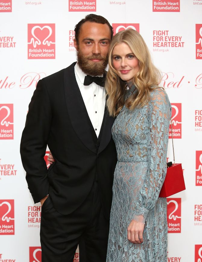 James Middleton et Donna Air