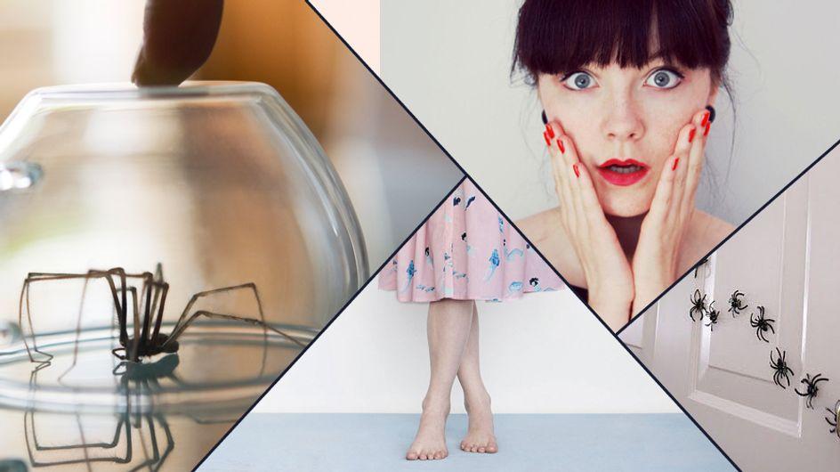 Albtraum auf 8 Beinen: Situationen, die allen Frauen mit Spinnenphobie bekannt vorkommen