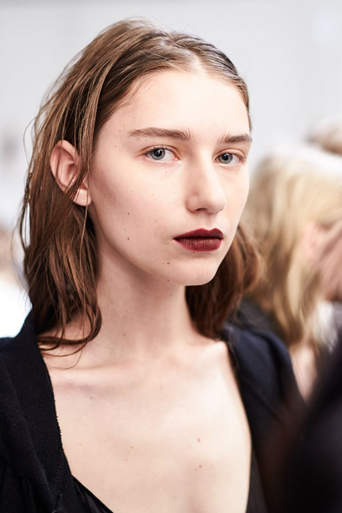 london fashion week beauty trends