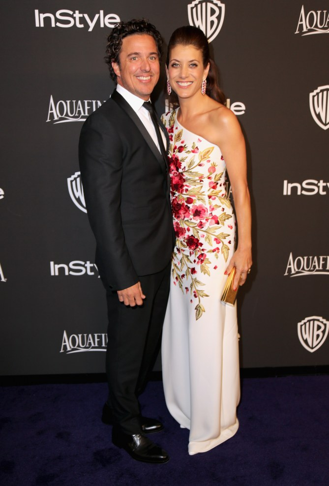 Kate Walsh et Chris Case