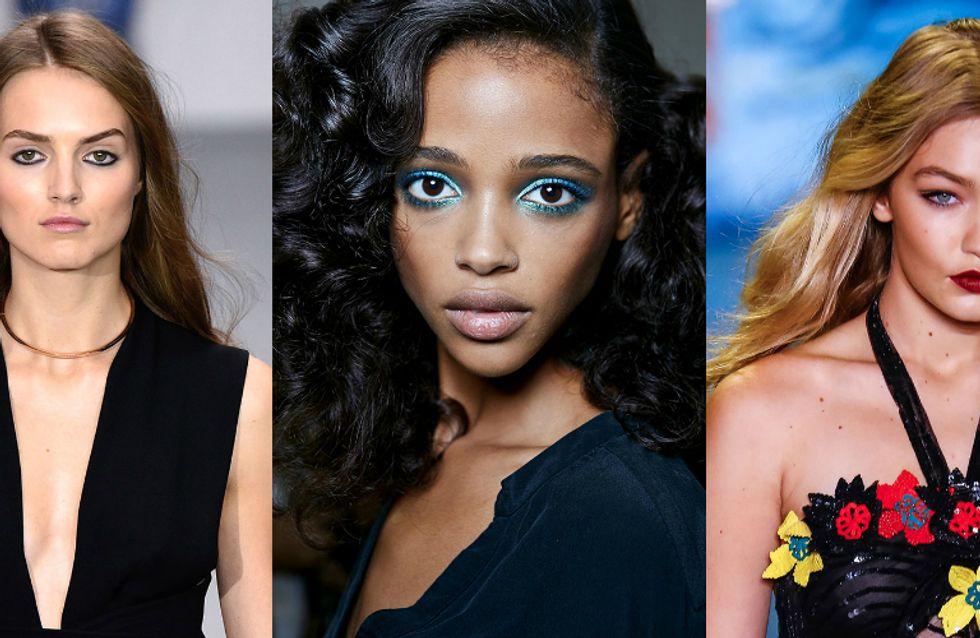 A beleza das semanas de moda de Londres e Nova York para copiar já