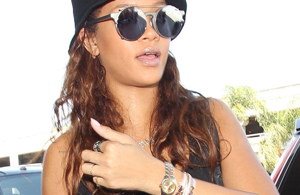 Rihanna en pantuflas, peor look de la semana