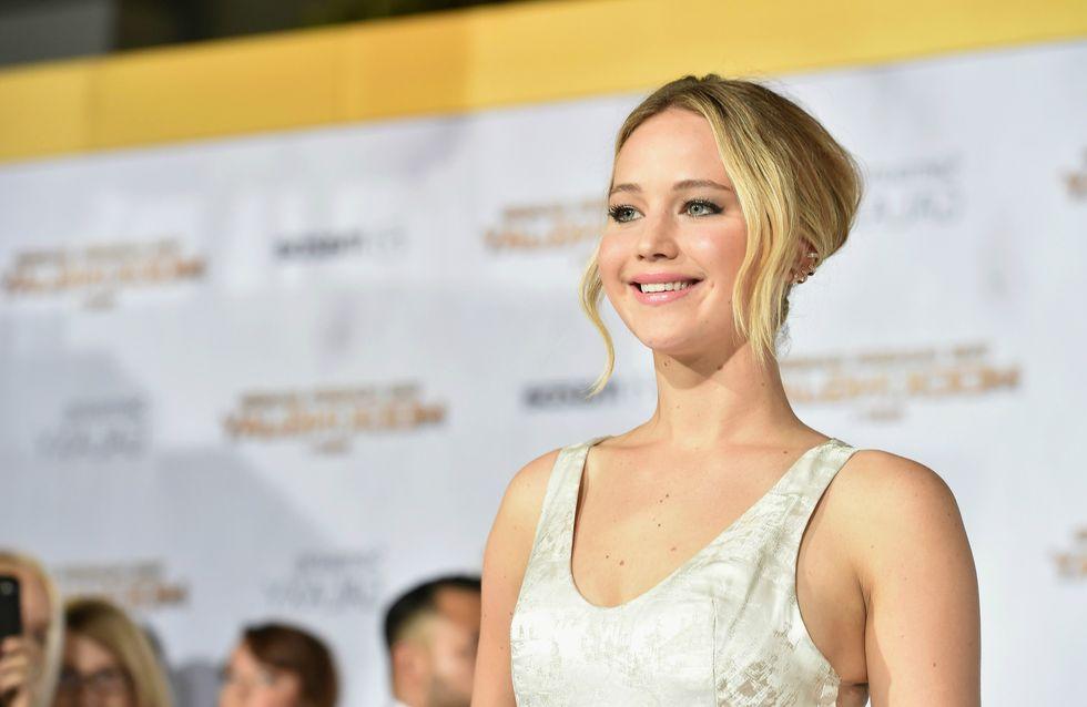 Jennifer Lawrence devient blonde platine !