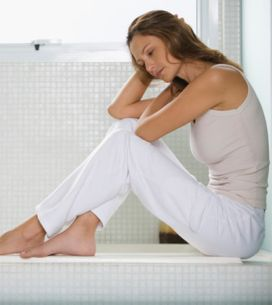 Une femme sur quatre souffre de dépression post-mariage