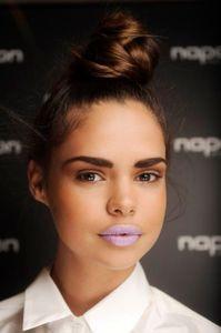 Lippenstift in Violett