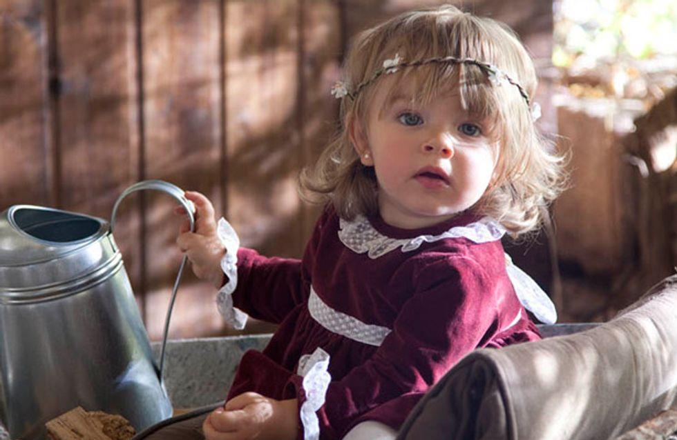 30 ideas de vestidos de ceremonia para bebés