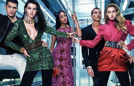 Campagne Balmain x H&M