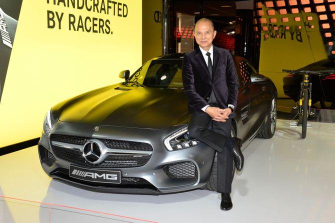 Jimmy Choo, adepte du design de Mercedes-Benz