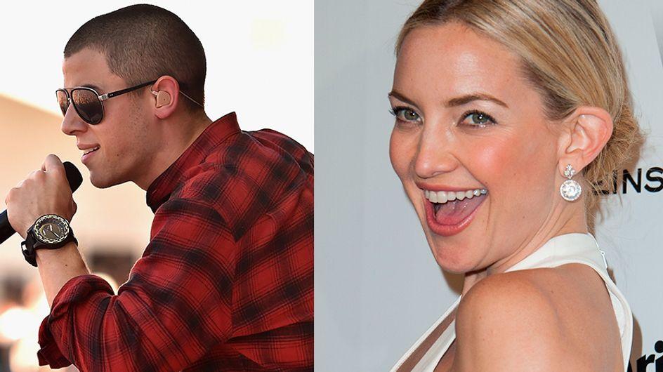 Nick Jonas e Kate Hudson. Novo casal?