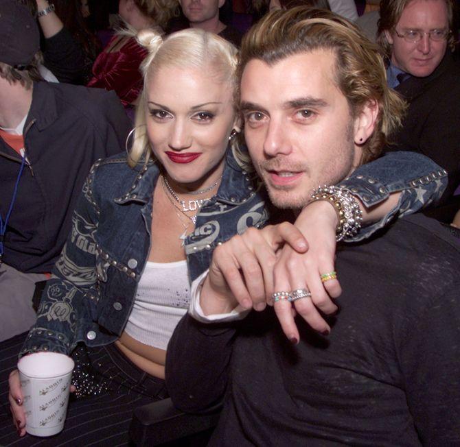 Gwen Stefani et Gavin Rossdale en 2000
