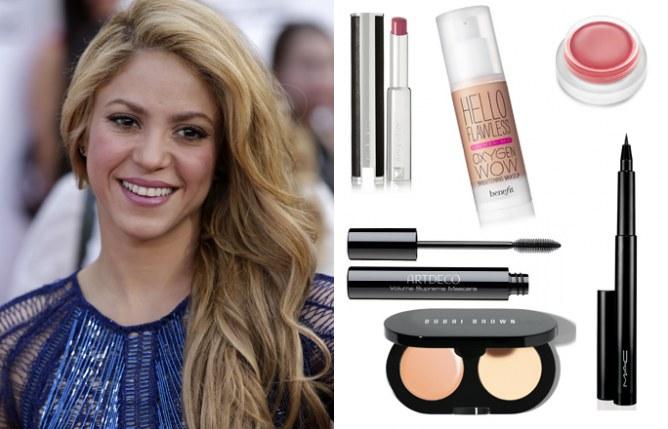 Copia el maquillaje de Shakira