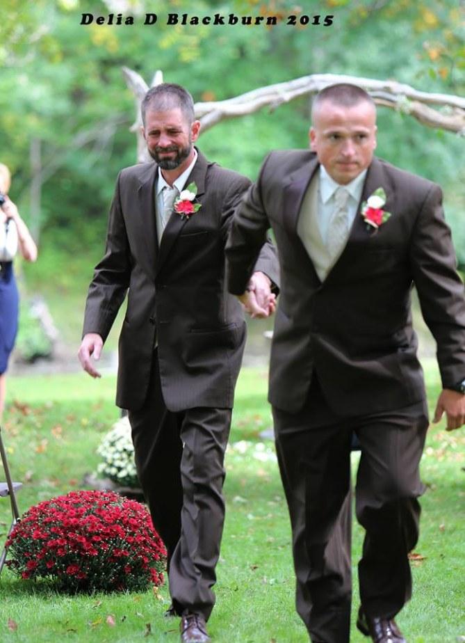 Todd Bachman au mariage de sa fille Brittany