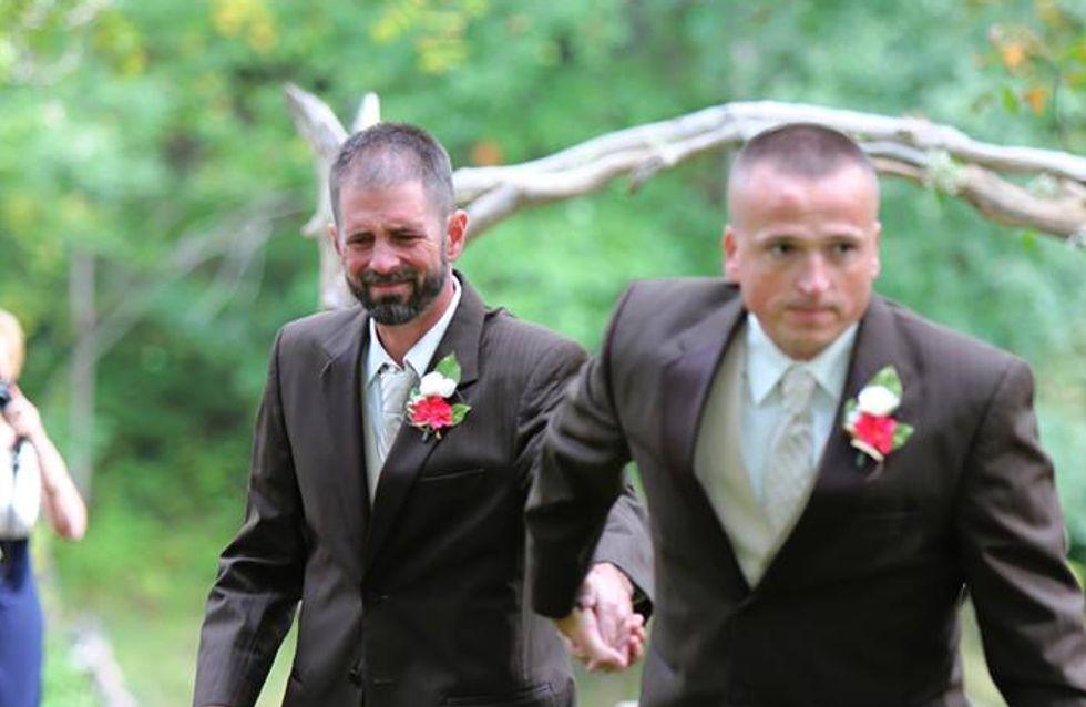 Le geste inattendu d'un papa lors du mariage de sa fille (Photos)