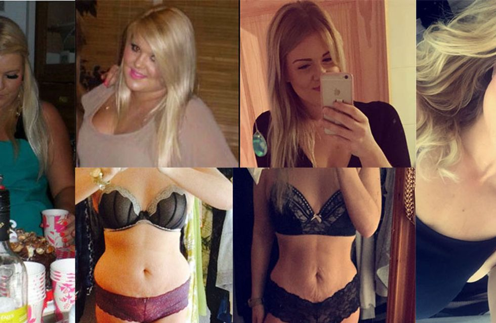 This Girl's Five Stone Weight Loss Is A Lesson In Loving Yourself No Matter What Your Size