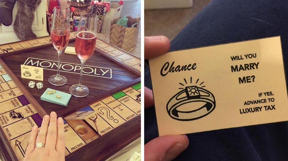 Homem cria jogo de Monopoly especial para pedir namorada em casamento