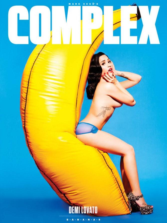 Demi Lovato pour le magazine Complex