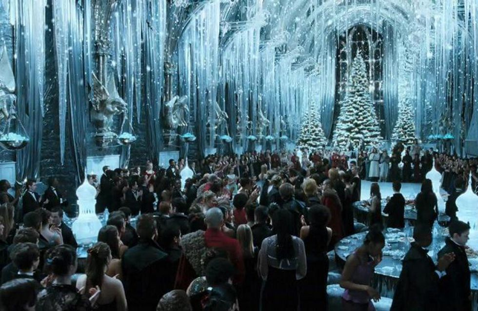 You Can Now Have Christmas Dinner In The Great Hall Of Hogwarts and Yes This Is Real Life