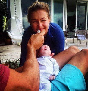 Hayden Panettiere et sa petite Kaya