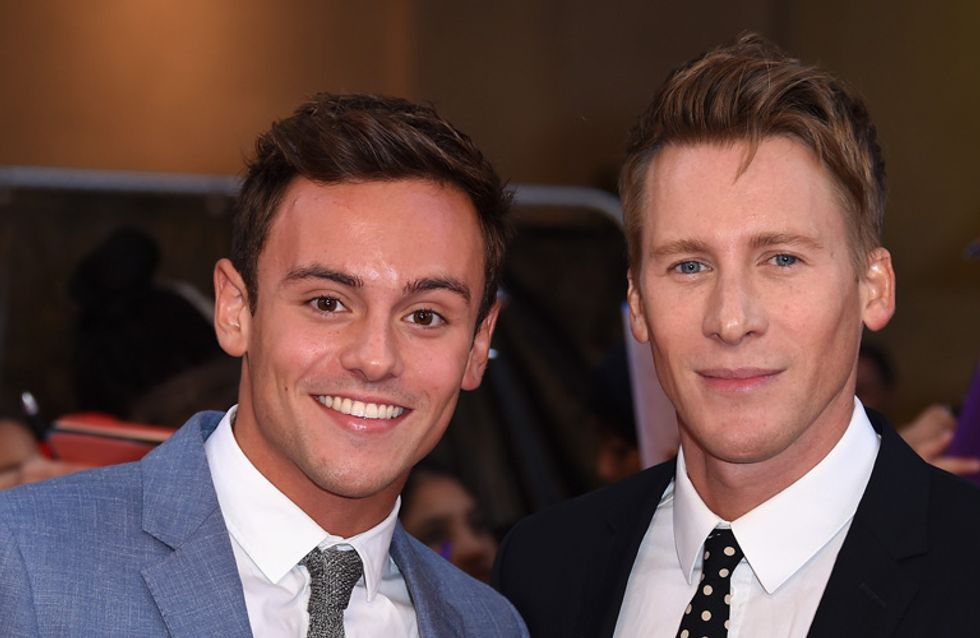 Tom Daley And His Boyfriend Are Engaged And We Would Like To Be Invited To The Wedding Please