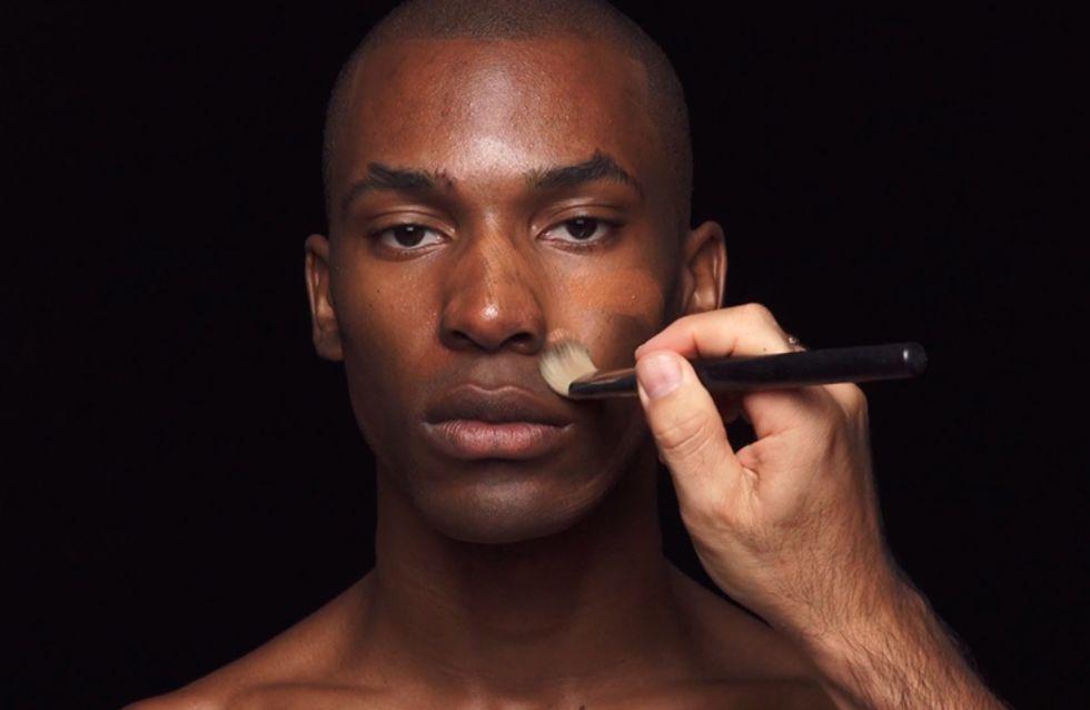 Este maquiador está desafiando os estereótipos misturando os gêneros