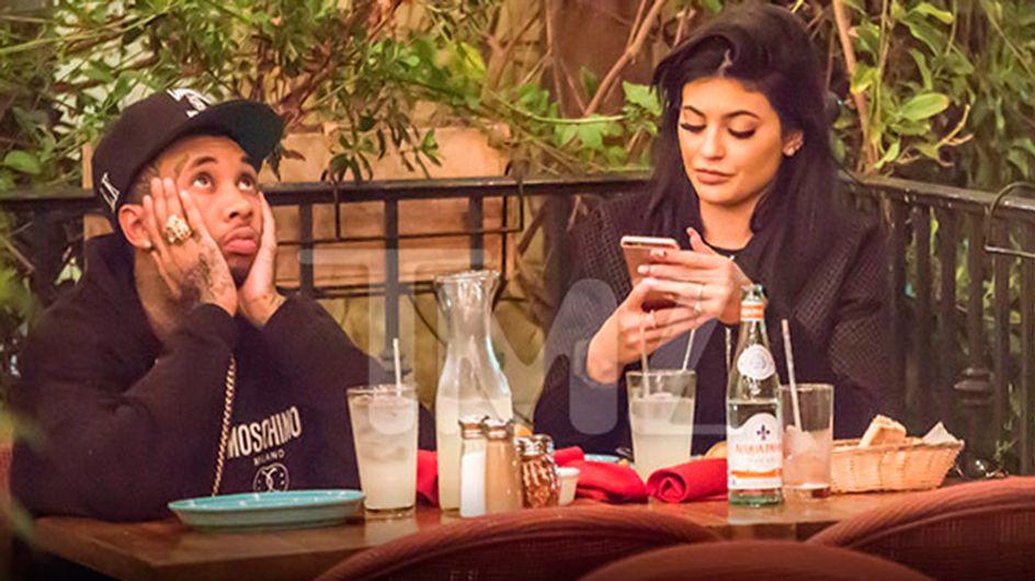 Kylie Jenner e Tyga em: Um Encontro Tedioso