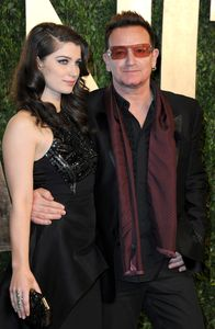 Eve Hewson et son père Bono