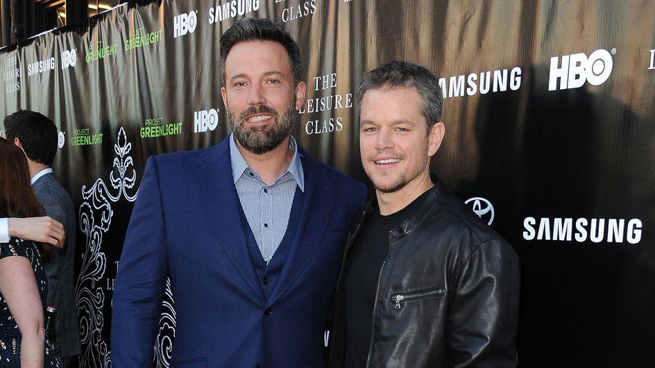 """Matt Damon : """"C'était douloureux d'être l'ami de Ben Affleck quand il était avec Jennifer Lopez"""""""