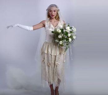 100 ans de robes de mariée en vidéo