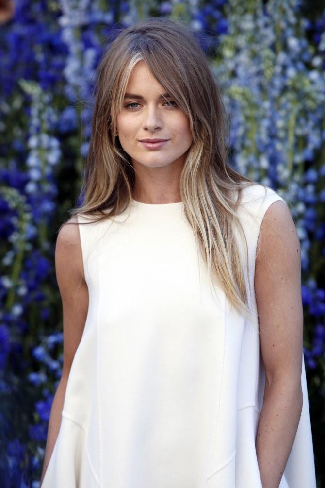 Cressida Bonas au défilé Dior