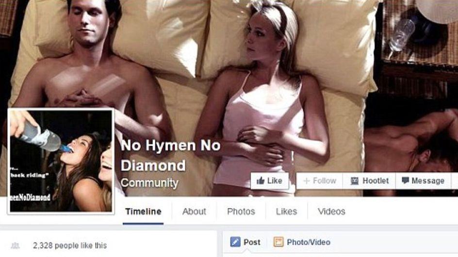 Pas d'hymen pas de bague : La page Facebook qui fait scandale