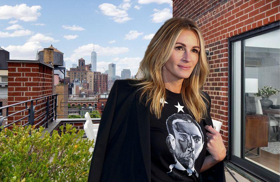 Julia Roberts vende su increíble ático por 4,5 millones de dólares
