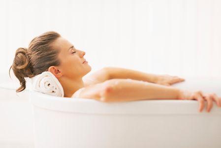 Octroyez-vous de vrais moments de détente, et prenez un bain chaud