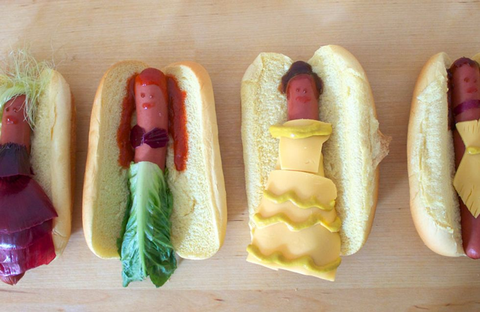 This Is What Disney Princesses Look Like As Hotdogs - Because This Is The End