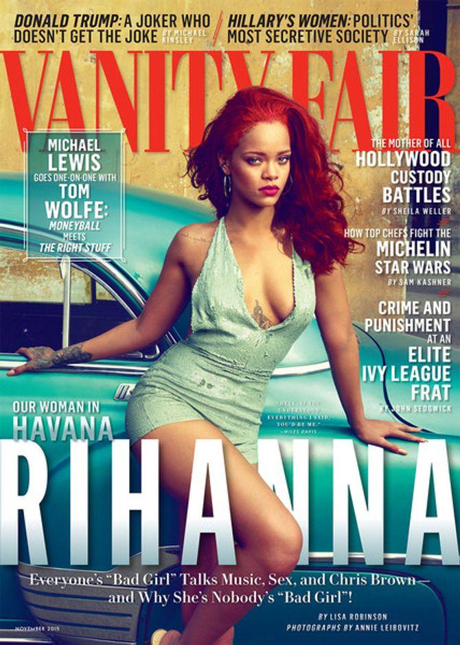 Rihanna pour Vanity Fair