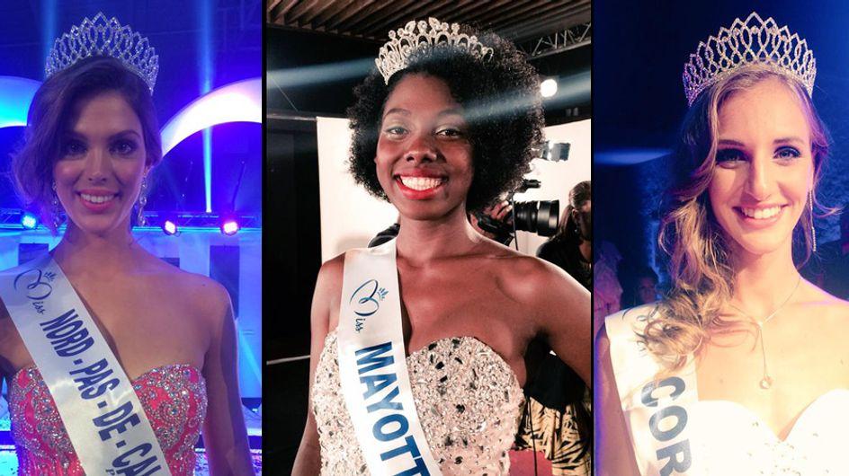 Les premières photos des candidates pour Miss France 2016