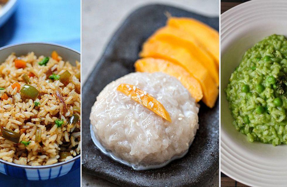 Reis-Rezepte: 5 Ideen von asiatisch bis italienisch