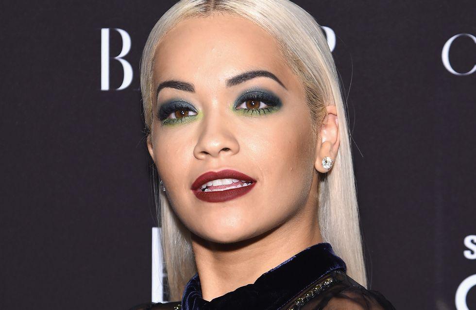Rita Ora sexy en lingerie (Photos)
