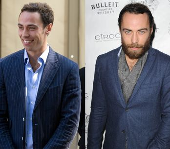 L'étonnante transformation de James Middleton, le petit frère de Kate (Photos)