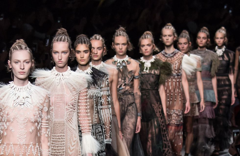 People Aren't Happy About Valentino's Africa-Themed Runway Show