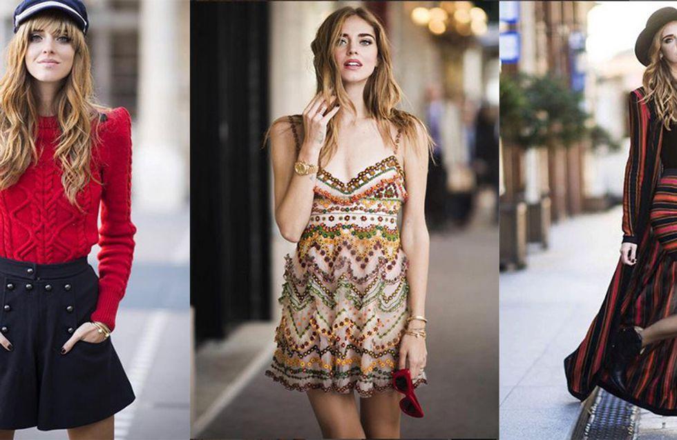 Les meilleurs looks de Chiara Ferragni pour les défilés parisiens