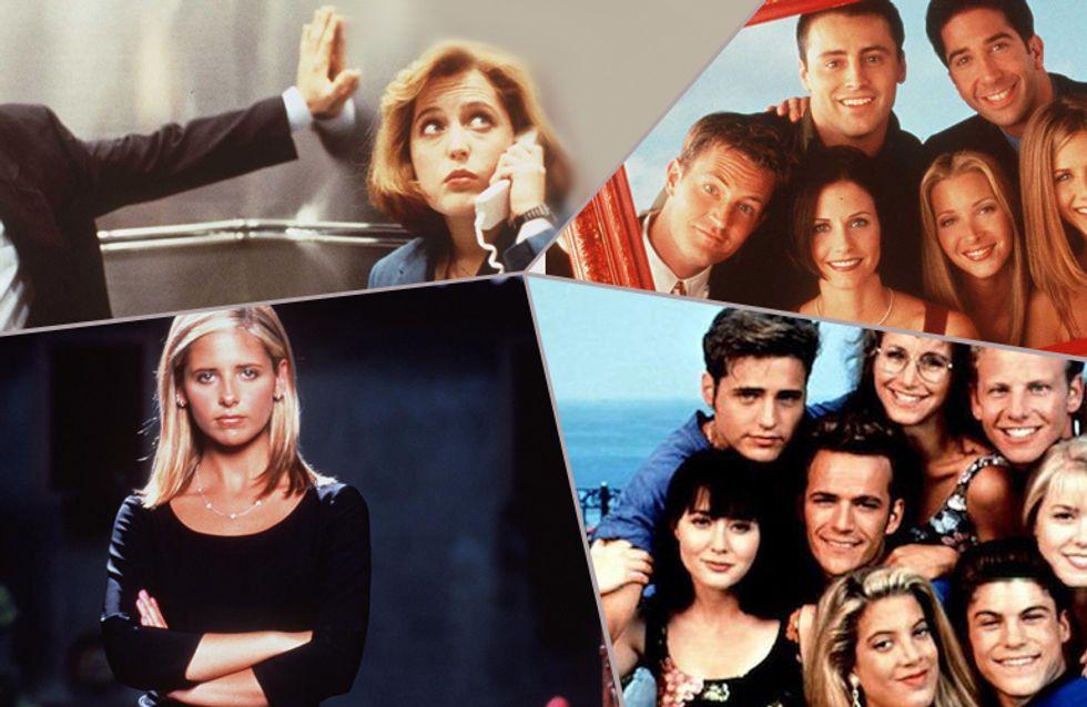 Von 'Beverly Hills 90210' über 'Baywatch' bis 'Friends': Wie gut kennst du die Serien der 90er?