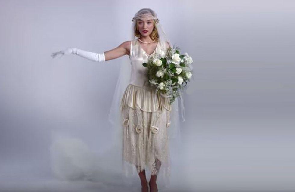 100 años del vestido de novia en vídeo