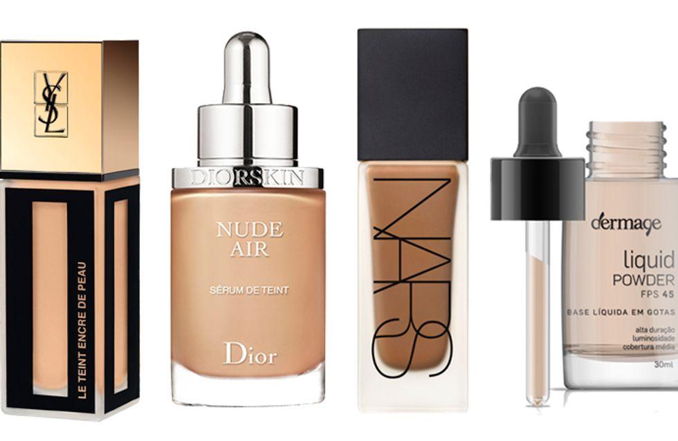 Efeito pele nua: conheça as bases ULTRALEVES que redefiniram o conceito de maquiagem