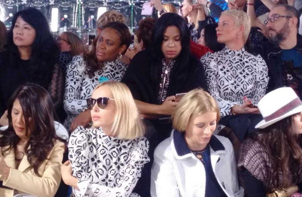 Les triplées (oups) du défilé Louis Vuitton