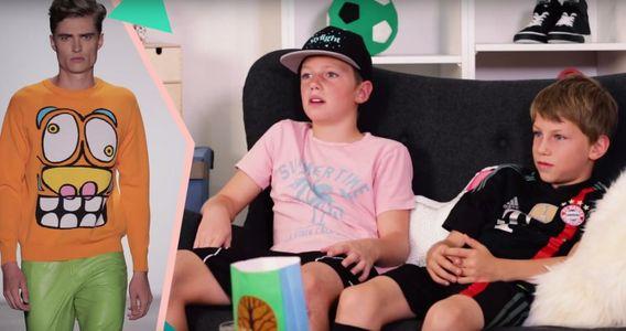 Ce que les enfants pensent de la Fashion Week (Vidéo)