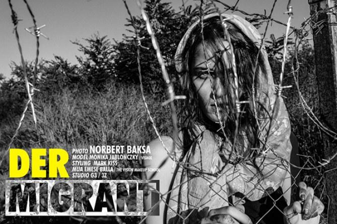 """""""Der Migrant"""", le shooting photo inspiré de la crise des réfugiés"""